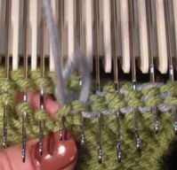 Grafting on the Machine - Purl Side Tutorial For Machine Knitting