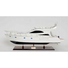 Old Modern Handicrafts Viking Sport Cruiser Model Boat