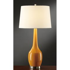 """Crestview Collection Nina 29.25"""" H Table Lamp with Empire Shade"""