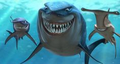 """A Finding Nemo Quote For Every Occasion. When you need to remind yourself to be a good person: """"I am a nice shark, not a mindless eating machine. Timeline Cover Photos, Facebook Timeline Covers, Cover Pics, Cover Art, Finding Nemo Quotes, Twitter Backgrounds, Show Me The Way, Fb Covers, Book Covers"""