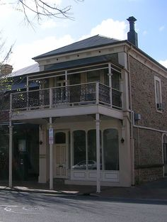 some are old and new. split level - i thought a single. Living In Adelaide, Australian Houses, Adelaide South Australia, Revival Architecture, Old Buildings, Tasmania, Old Houses, Old And New, Cities