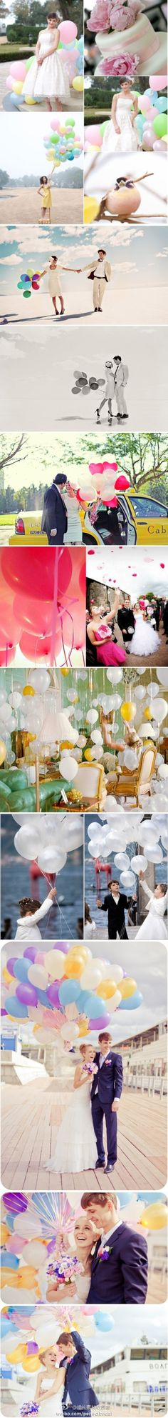 A lot of balloons