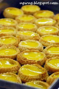 Egg Tart @ Choy Kee Biscuit