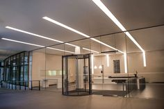 QUAD Made to Measure lighting profile by Optelma, Trimless Recessed with Opal diffuser. #LightingDesign #Lighting #Office #Architecture #InteriorDesign #LED #Recessed