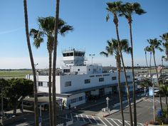 Long Beach Airport in California