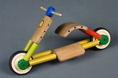 bamboo scooter