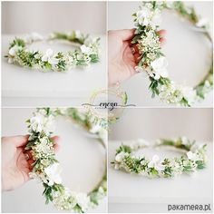 Flower Girl Hairstyles, Wedding Hairstyles, Communion Hairstyles, Communion Dresses, First Holy Communion, Lily Of The Valley, Flower Centerpieces, Floral Crown, Spring Wedding