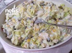 Yoğurtlu Tavuklu Mis Salata
