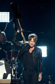 Keith Urban - 49th Annual Academy Of Country Music Awards - Show