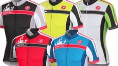 Castelli Cycling Jerseys Summer Men