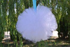 Tulle Pompoms Bachelorette Party Decor Hen Party Decor  by JCBees, $19.99