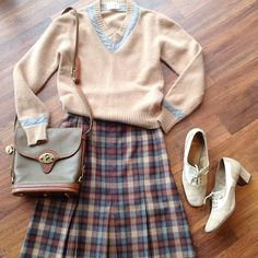 """Cozy comfy and classic 70s angora & lambswool sweater 