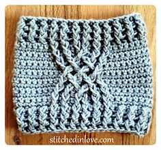 Three crocheted boot cuff patterns | Stitched In Love Crocheting
