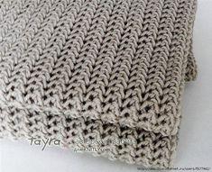 Красивый узор для шарфа (УЗОРЫ СПИЦАМИ)   Журнал Вдохновение Рукодельницы