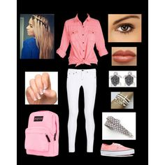 """""""First Day of School"""" by nachognat on Polyvore"""
