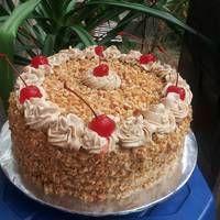 Resep Mocca Nougat Cake Oleh Melz Kitchen Resep Makanan Manis Kue Tulban Kue Lezat
