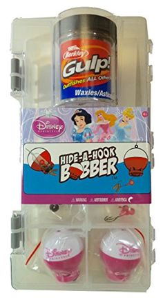 Shakespeare Disney Princess HideAHook Bobber Fishing Accessory Kit ** Check out the image by visiting the link.