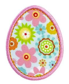 FREE Easter Egg Applique from GG Designs Embroidery