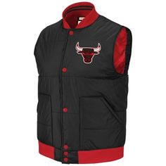 Mitchell   Ness Chicago Bulls Vintage Free Agent Vest - Black Red  89.95   FathersDay 39ab381ded7