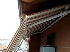 Tenda da sole Marcesa (bracci estensibili doppia pendenza) Torino Chieri...