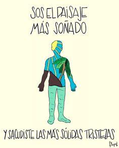 Tema: Lago en el cielo  Autor e intérprete: Gustavo Cerati