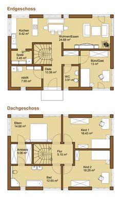 jpg × Agate-Grundriss_g … – Architecture Ideas Hallway Flooring, Ikea Hallway, Hallway Ideas, Inexpensive Flooring, Architecture Plan, House Layouts, Big Houses, Decorating On A Budget, Bungalow