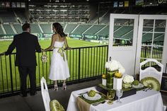 Portland Timbers Wedding by Phan Photography