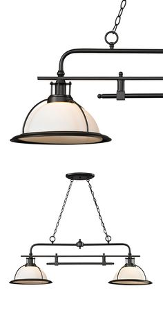 Symmetry and simplicity are two words that describe the Clarendon Pendant Light. You'll love the detail-laden design and distinctively retro industrial vibe that this pendant give off. It's sure to off...  Find the Clarendon Pendant Light, as seen in the It's a Wonderful Mid-Century Life Collection at http://dotandbo.com/collections/its-a-wonderful-mid-century-life?utm_source=pinterest&utm_medium=organic&db_sku=115421