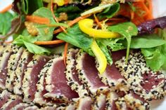 ... Soy Lime Noodles | Food inspiration | Pinterest | Seared Tuna, Noodles