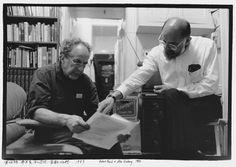 Robert Frank & Allen Ginsberg. 1989.  Foto: Ai Weiwei; Courtesy of Three Shadows Photography Art Cente