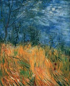 Vincent van Gogh's 'Edge of a Wheat Field with Poppies,' 1887.