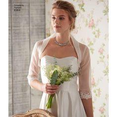 D0638 8364 Simplicity Bridal Accessories Headpiece