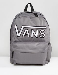 Get this Vans's backpack now! Click for more details. Worldwide shipping. Vans Realm Flying V Camo Backpack In Grey - Grey: Backpack by Vans, Fabric outer, Contrast checkerboard lining, Grab handle, Twin shoulder straps, Vans logo, Zip closure, External pocket, Machine wash, 100% Polyester, H: 42cm/17 W: 30cm/12 D:12cm/5. Famed for its iconic skate shoes, Vans was born in Sixties California and has since garnered a cult following that includes skateboarders, sports stars and style makers…