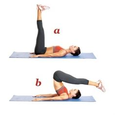 Pilates Exercises for a Tighter Tummy - Click image to find more health posts