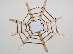 The Very Busy Spider: Spinning spider Web | Craft To Art