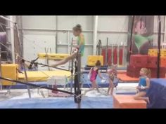 This is a fun and very important bar complex using kips, front hips, and back hip circles. Gymnastics Coaching, Gymnastics Workout, Drills, Cheryl, Jasmine, Circles, Youtube, Animal, Watch