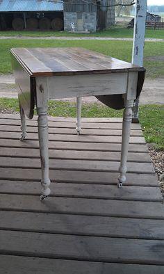 $125 Drop Leaf Farm Table
