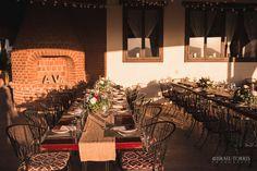 Hacienda Guadalupe Wedding Dinner,  Alicia & Viridiana  Photo: Israel Torres