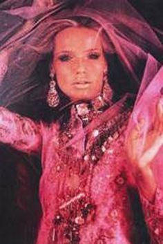 """Marchesa. """"Veruschka for Artisans du Liban et d'Orient, Vogue Paris September 1969."""" WWD Inspirations"""