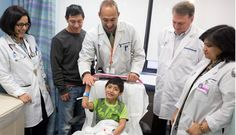 Thanks to Doctors at Mount Sinai, Pablo Celebrates His New Heart at the Pediatric Cardiology Valentine's Day Reunion Party. Read more at http://www.mountsinai.org/patient-care/service-areas/children/patient-stories/pablos-story
