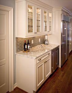 pantry glass door uppers w glass shelving under counter wine fridge - Under Counter Wine Fridge