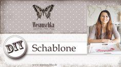 DIY : Schablone selber machen | Shabby Chic | How do I make a stencil