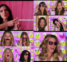 2013 Pink Girls of the Victoria's Secret Fashion Show