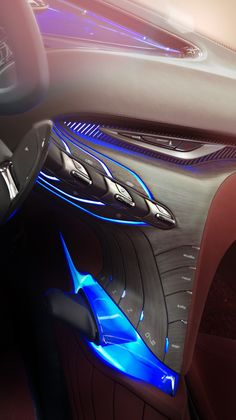 Hyundai HED-8 i-oniq Show-Car Interior / Geneva 2012 by Eric-Yann Coulouvrat, via Behance