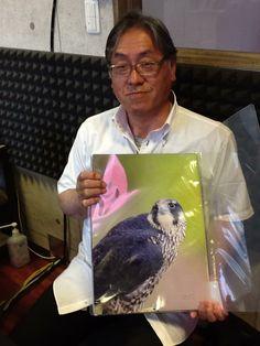 【あなたにiタイム】  今日ご出演いただいたのは「飛写倶楽部 翔」主宰の「加藤貞治」さんでした。