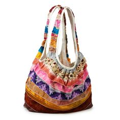 Made from recycled Indian saris!