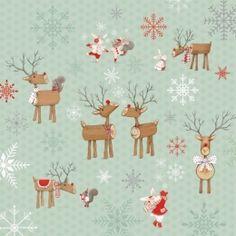 Joy Love Peace Christmas Holiday Fabric Red Polka Dot Dots on Winter White StudioE