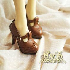 bjd doll shoes,sd13/sd16 shoes ,  Vintage British shoes ,Lolita , high heels volks DD Leeke