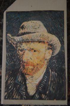 Vincent van Gogh, metafoor voor de kunstgeschiedenis lessen en tevens onderdeel van mijn beginsituatie. Als kind had ik kennissen in Zundert die we een aantal keer per jaar bezochten, dit is de geboortestad van Vincent van Gogh en heb daar dan ook musea bezocht over hem. Hierdoor heb ik altijd een soort connectie gehad met zijn werk.
