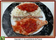 Escalope de veau pizzaïola, Vie quotidienne de FLaure